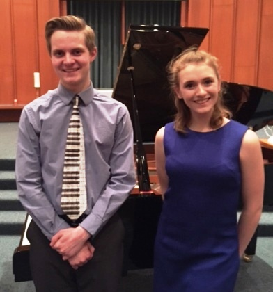 Raymond and Nika each won a class and tied for runner up in Romantic Composers class, March 6, 2018